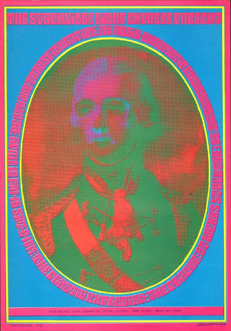 Psychedelic NR-13 Poster