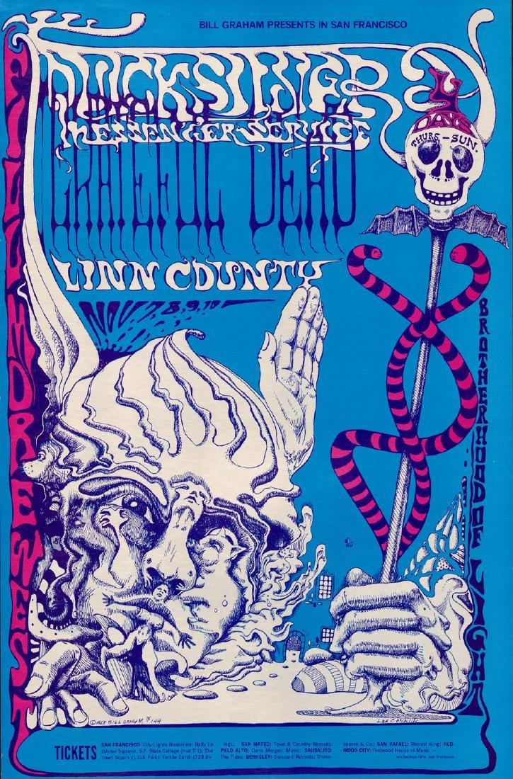 Popular BG-144 Grateful Dead Poster
