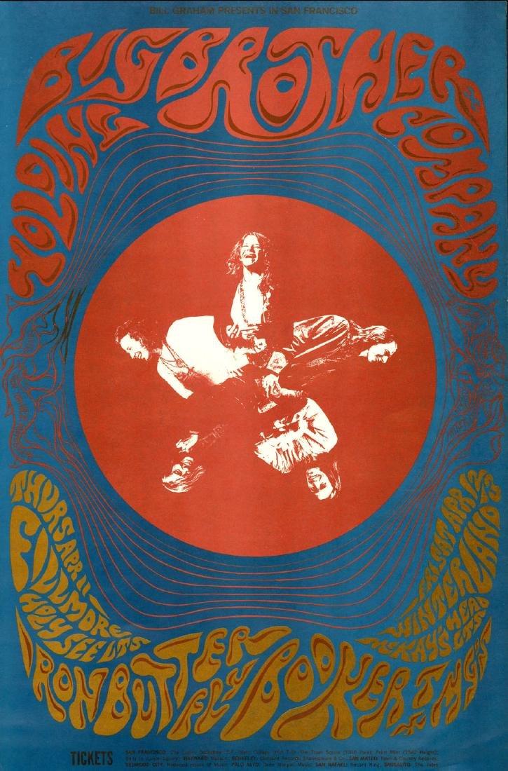 Scarce BG-115 Janis Joplin Poster