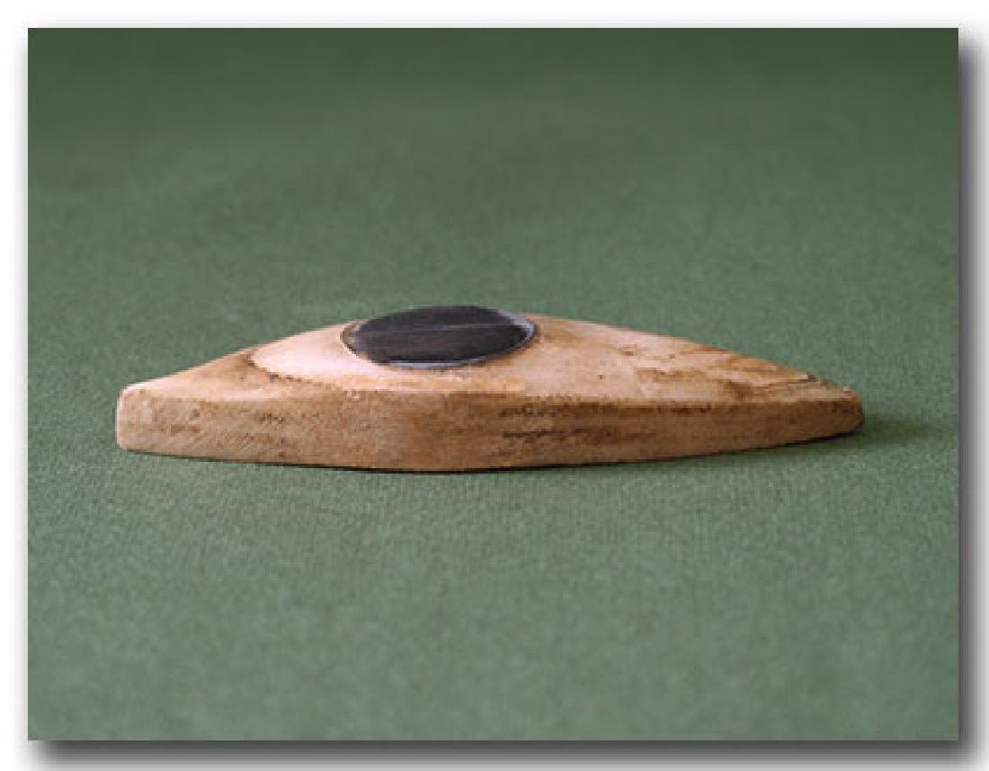 Large Egyptian Steatite Eye Inlay, c. 500 B.C. - 3