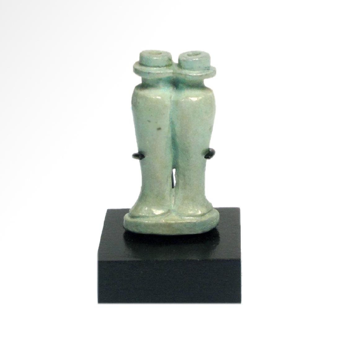 Small Egyptian Cosmetic Double Vessel, c. 600 B.C. - 2