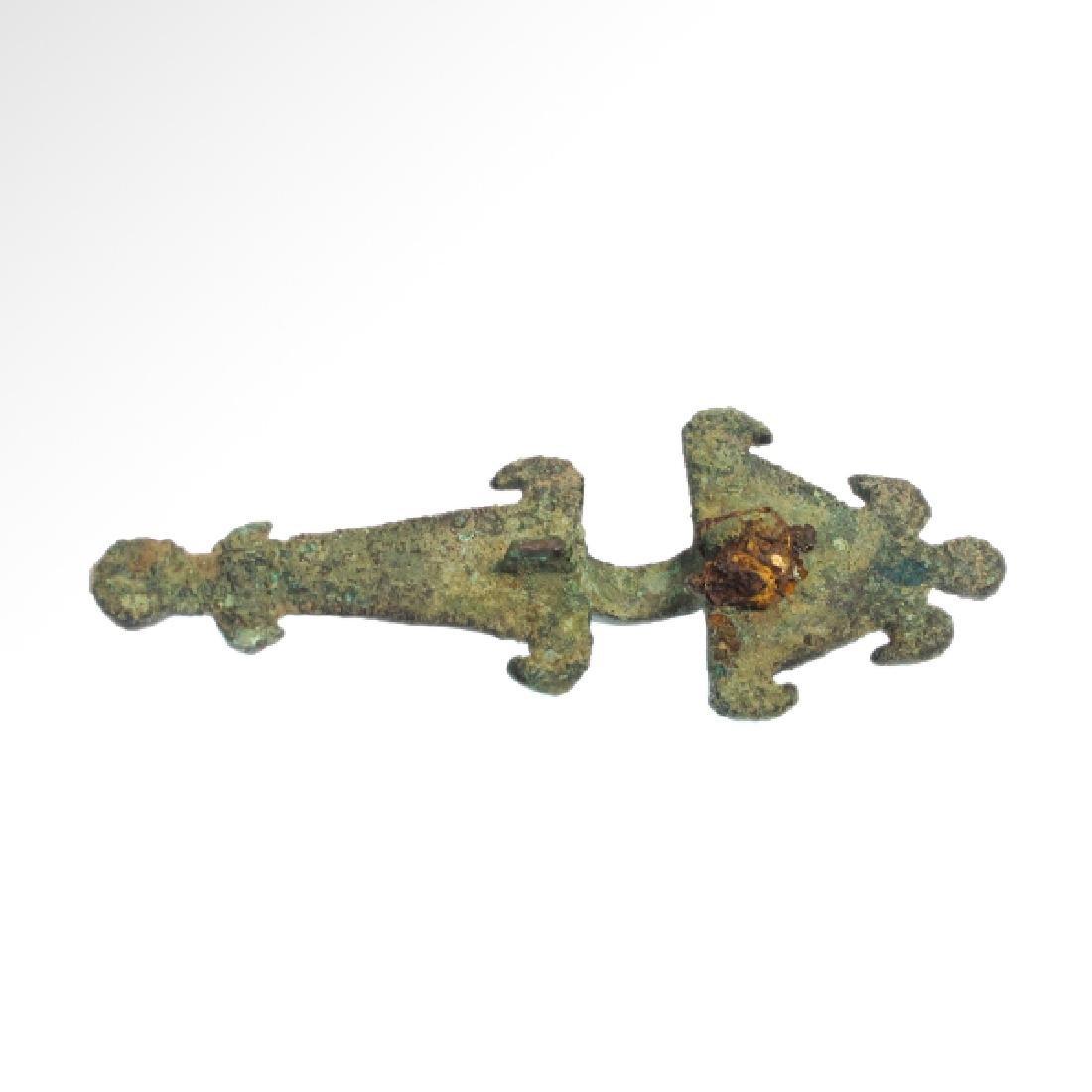 Ostrogothic/Visigothic Bronze Fibula, c. 6th Century - 5