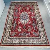 Kayseri Silk Rug 6.4x4