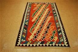 Fine Persian Shiraz Qashkai Sofreh Kilim Rug 3.8x7