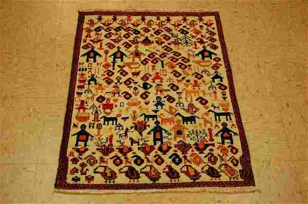 Persian Shiraz Qashkai Rug 2.3x3.2