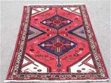 Hand Woven Persian Hamadan Rug 5x3.3