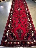Authentic Persian Hamedan Gallery Runner Rug 37x13