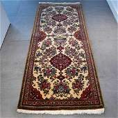 Qum Runner Hand Knotted Rug 6.2x2.7