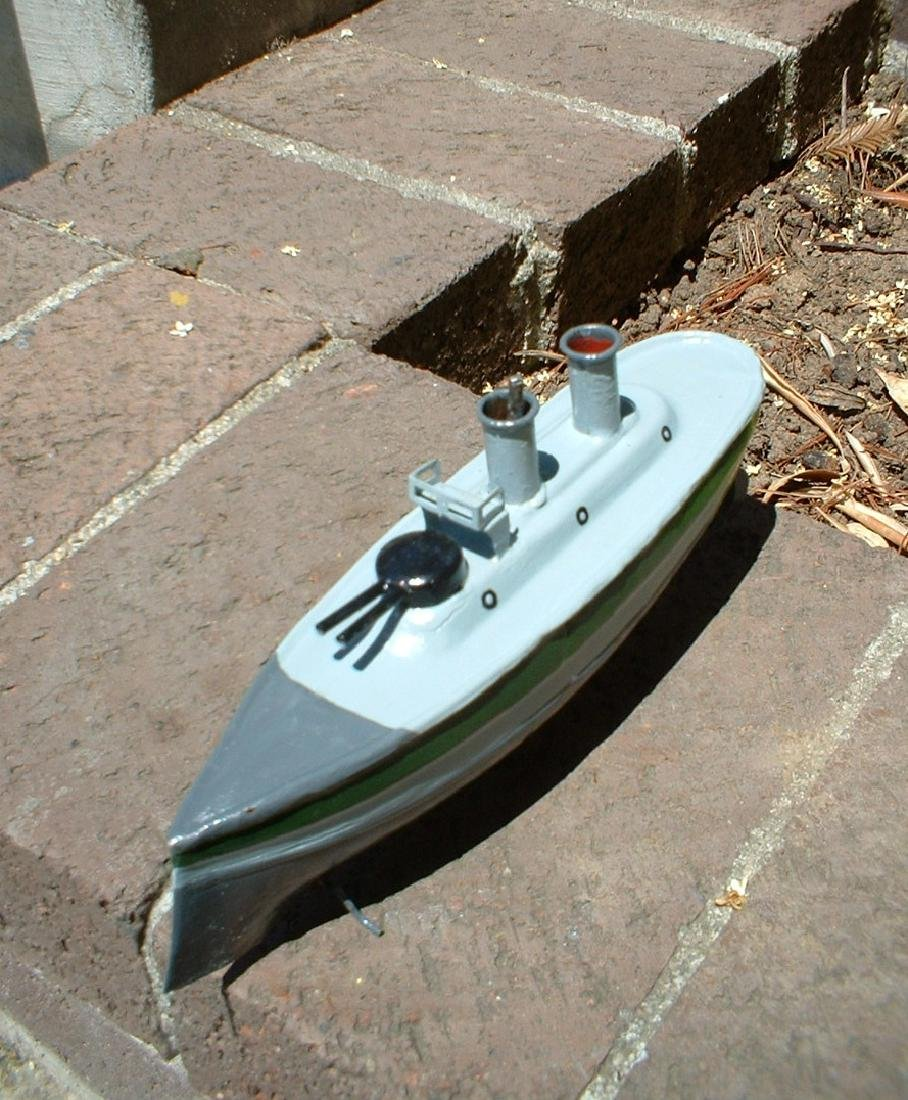 1904 Carette (Germany) Toy Military Cruiser