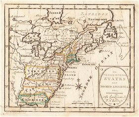 Jasper Pres Antiquarian Maps Auction - 1800s us map