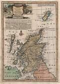 Bowen: Antique Map of Scotland, 1747