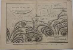 Mawman: Antique Map of Greece: Battle of Plataea