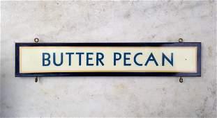 Butter Pecan Trade Sign 1940-50