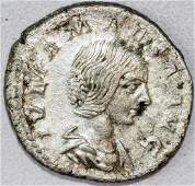 Ancient Roman Denarius of Julia Maesa