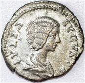 Ancient Roman Denarius of Julia Domna