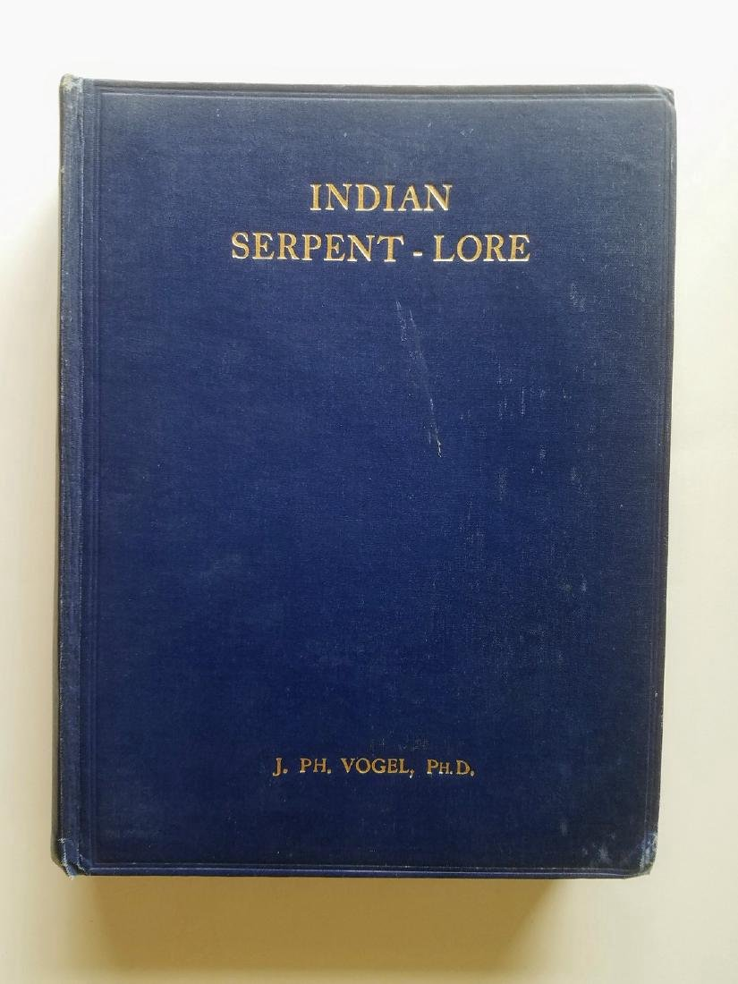 Indian Serpent-Lore Nagas in Hindu. First edition 1926.