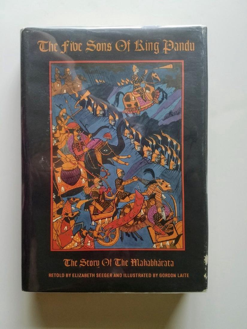 The Five Sons of King Pandu Story of the Mahabharata.