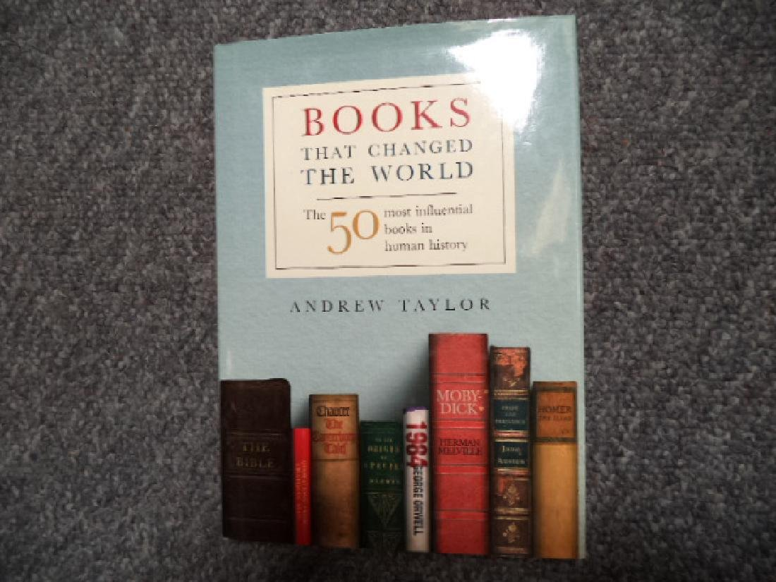 Books that Changed the World 50 Most Influential Books