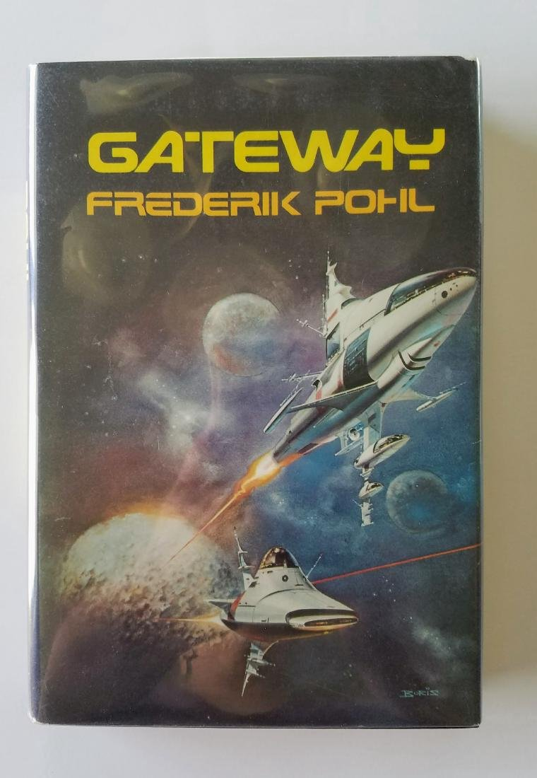 Gateway.  First book of the Heechee Series.