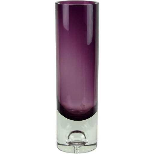 Tapio Wirkkala Sommerso Purple Art Glass Vase