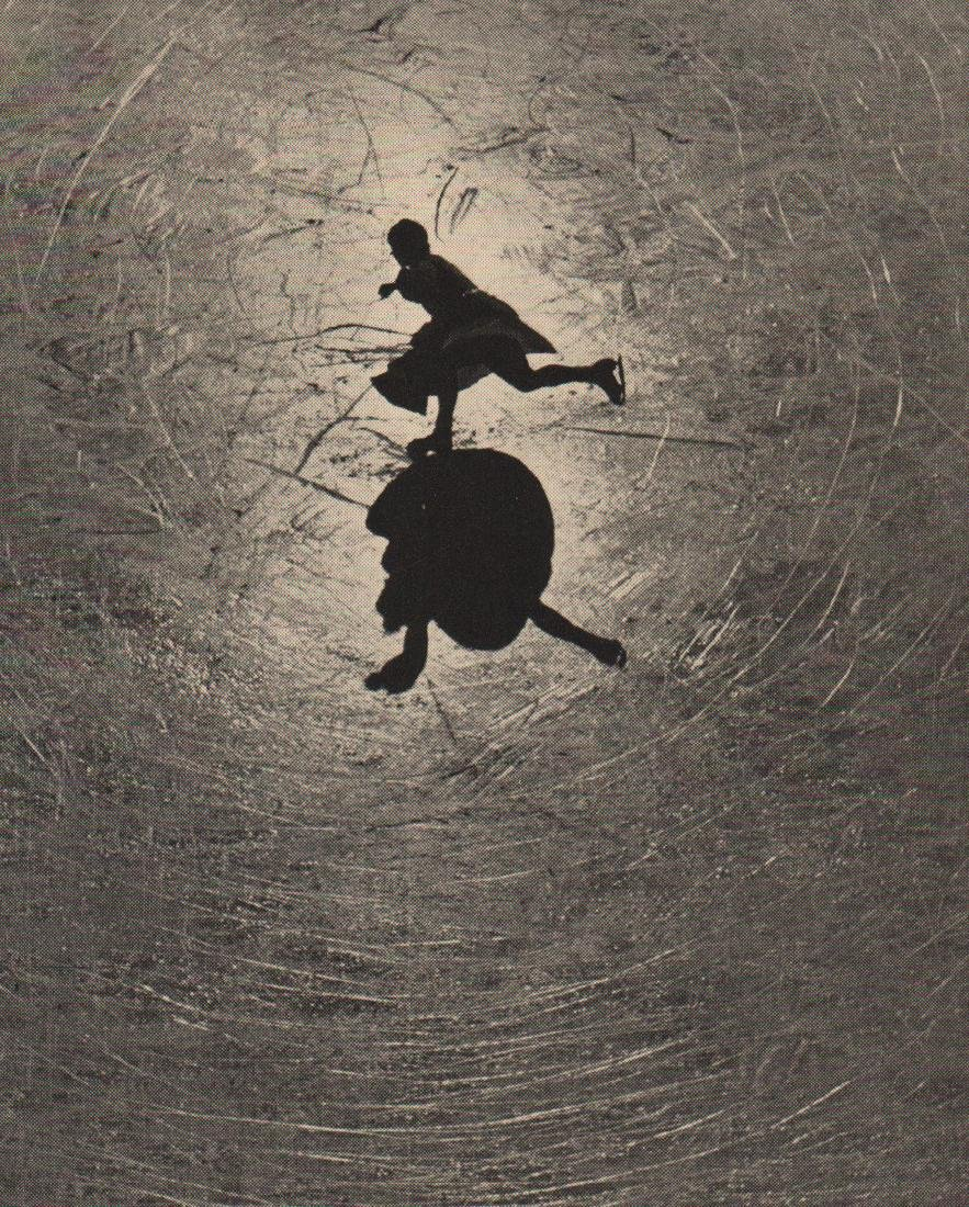 A. EISENSTAEDT- Shadow Play on the Ice