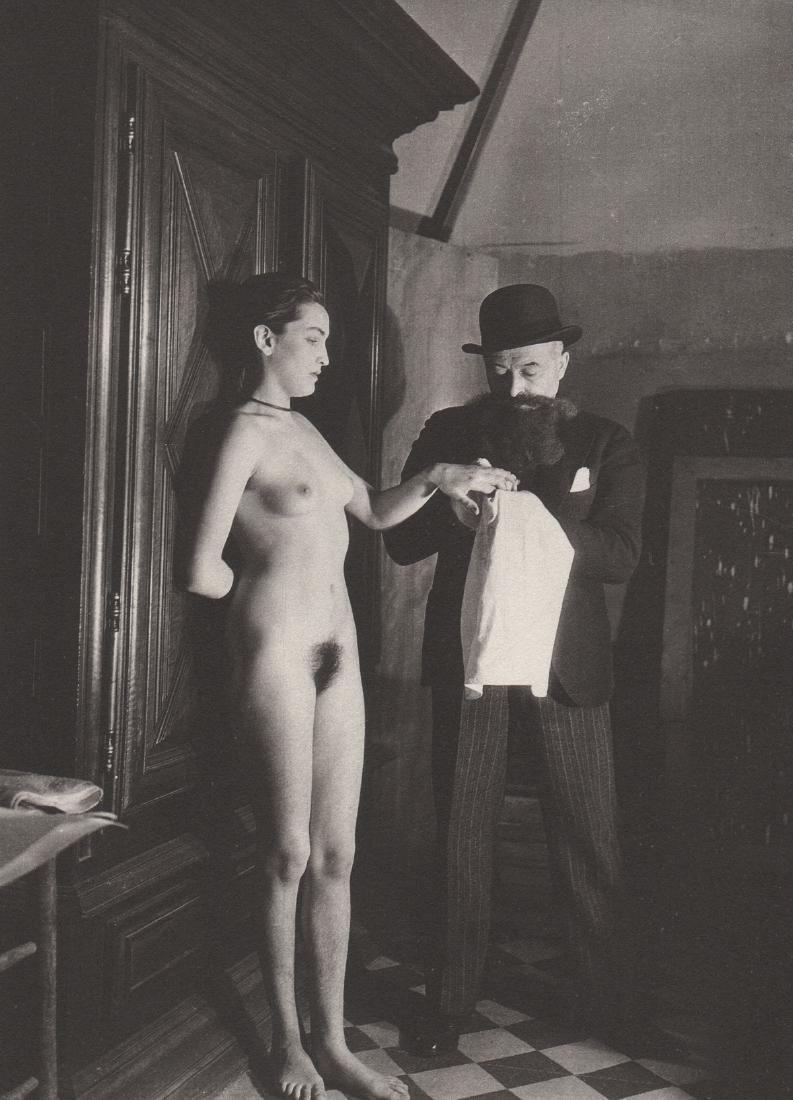 MAN RAY- Meret Oppenheim and Louis Marcoussis, 1933