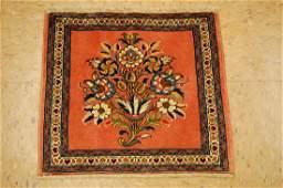 Kork Wool Design Persian Sarouk Rug 18x18