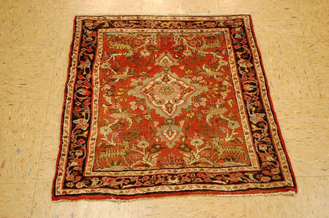 Persian Bijar Rug 2x2.9