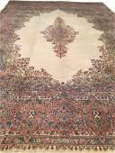 Antique Kerman Persian Rug 12x17