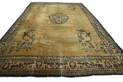 Antique Indo Chinese Rug 11x14