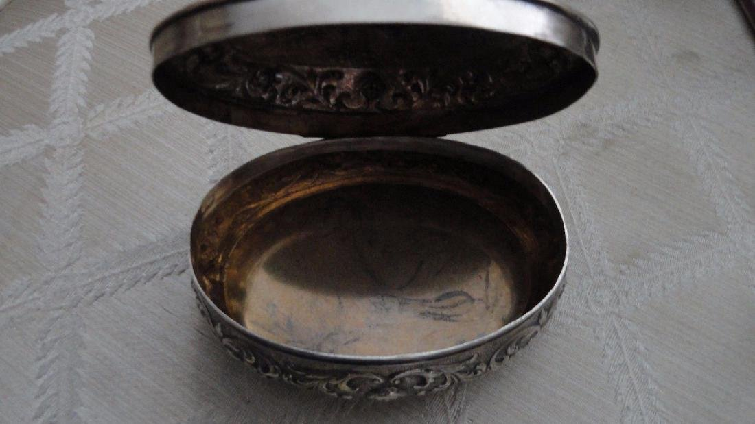 Antique German Sterling Silver Jewelry Box - 4
