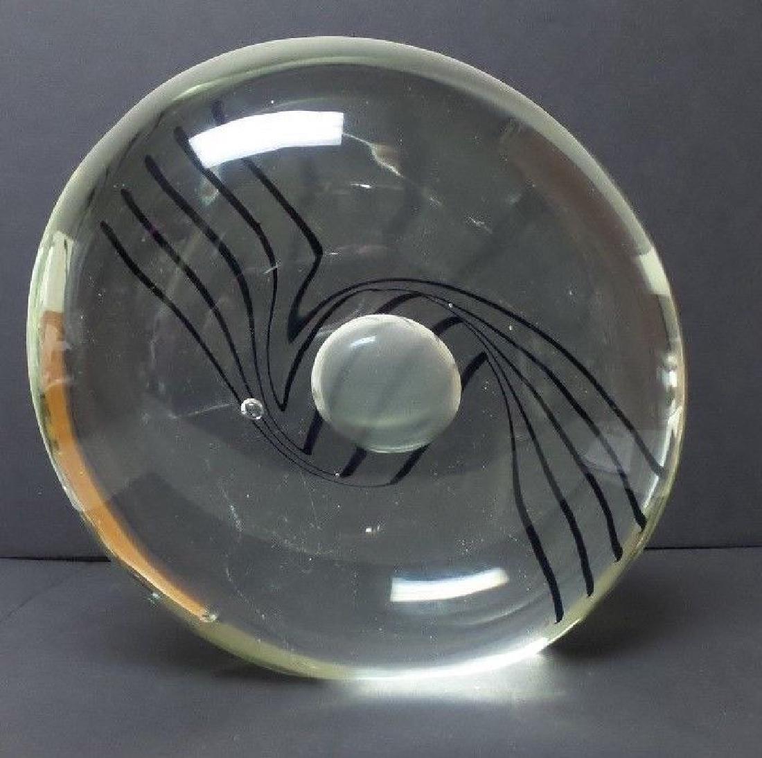 FABULOUS SIGNED LINO TAGLIAPIETRA VENETIAN ART GLASS