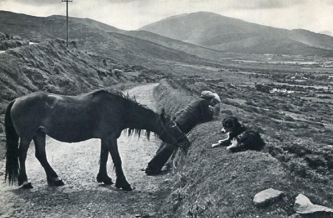 HENRI CARTIER-BRESSON - Dingle Peninsula, Ireland 1953