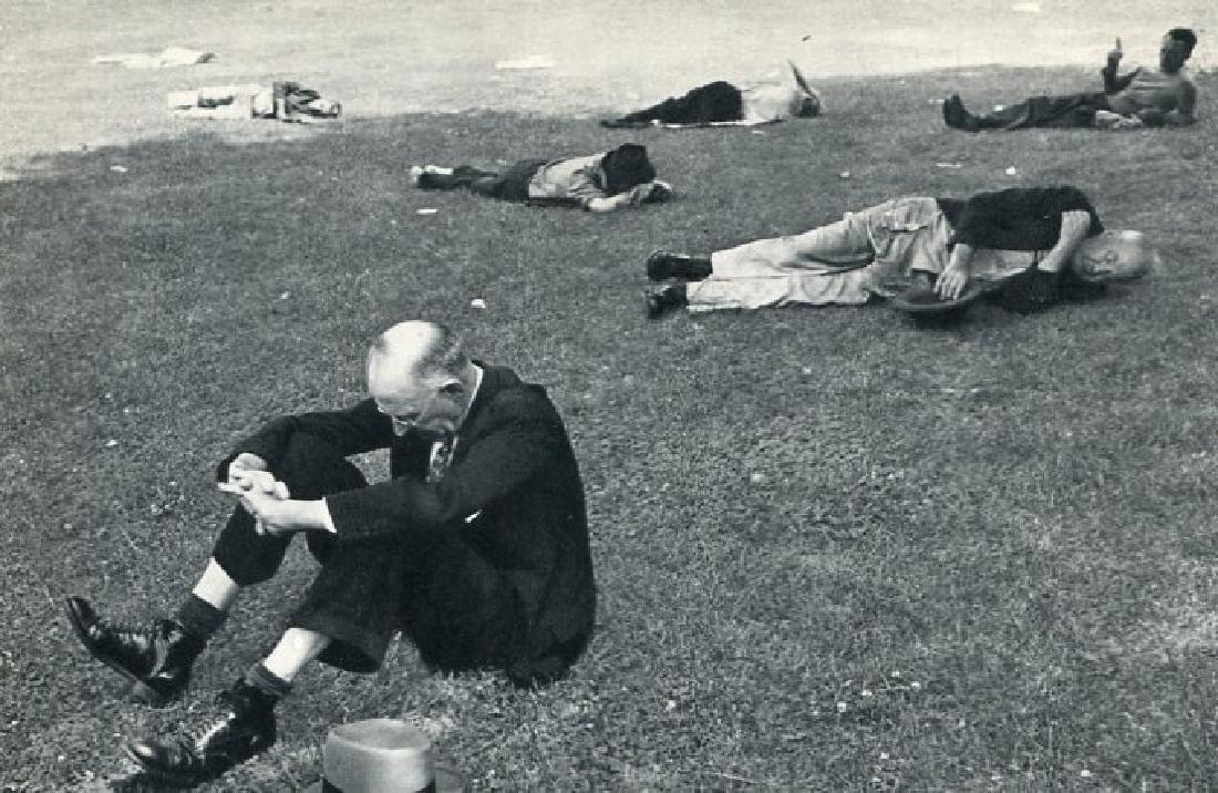 HENRI CARTIER-BRESSON - Boston Common 1947