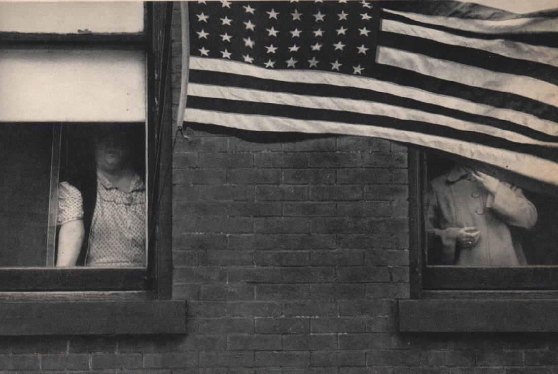 ROBERT FRANK - Parade, Hoboken New Jersey