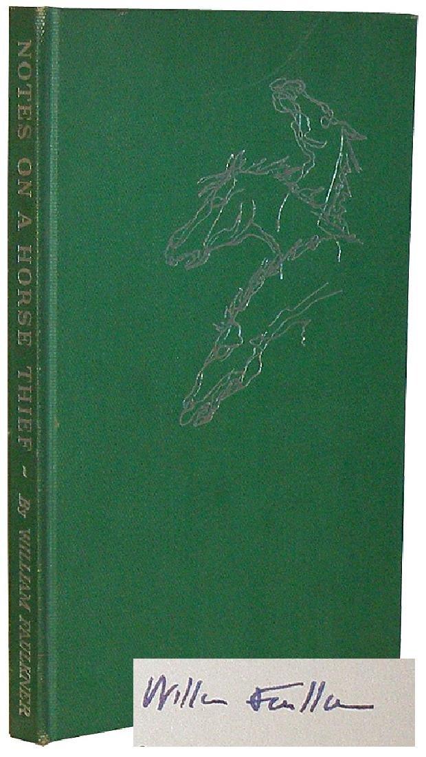 Faulkner, William Notes on a Horsethief