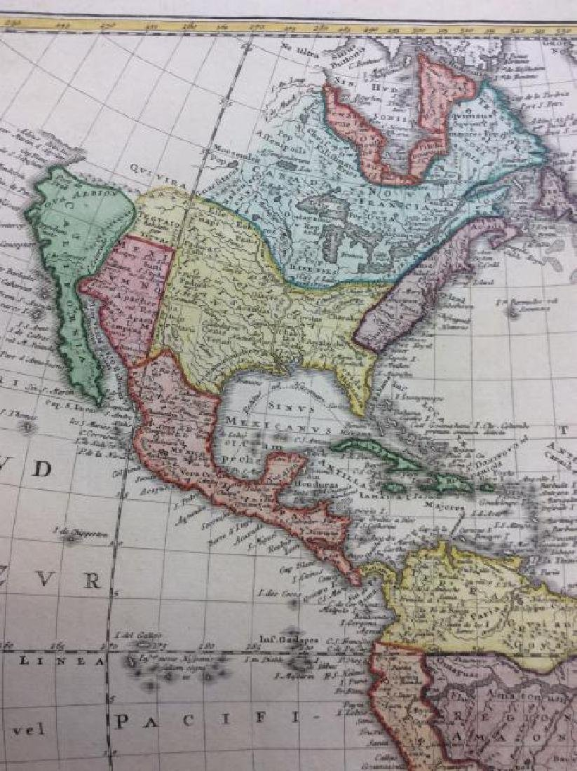 Homann Heirs: Antique Map of North & South America 1746 - 2