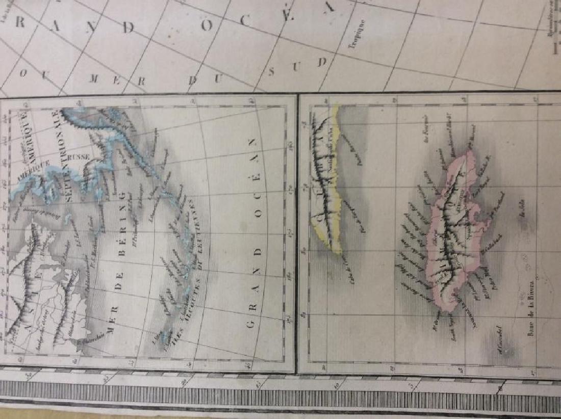 Raynaud: Antique Map of North America, 1838 - 3