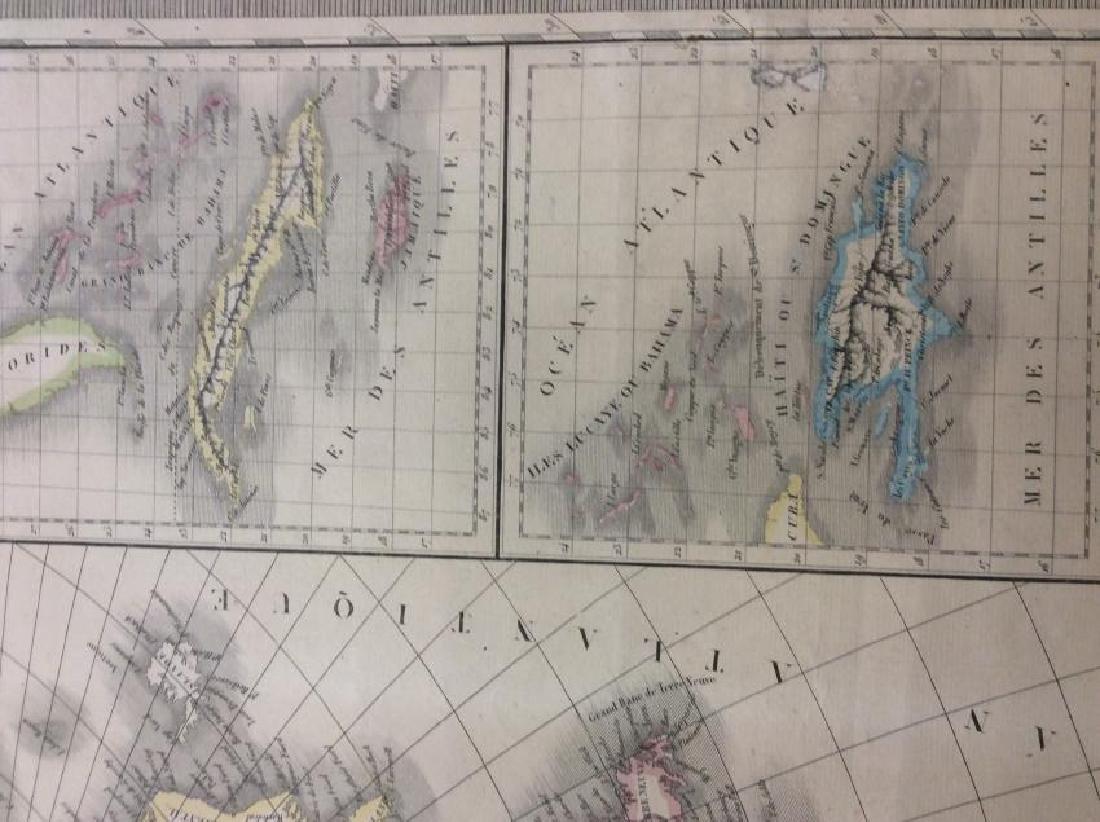 Raynaud: Antique Map of North America, 1838 - 5