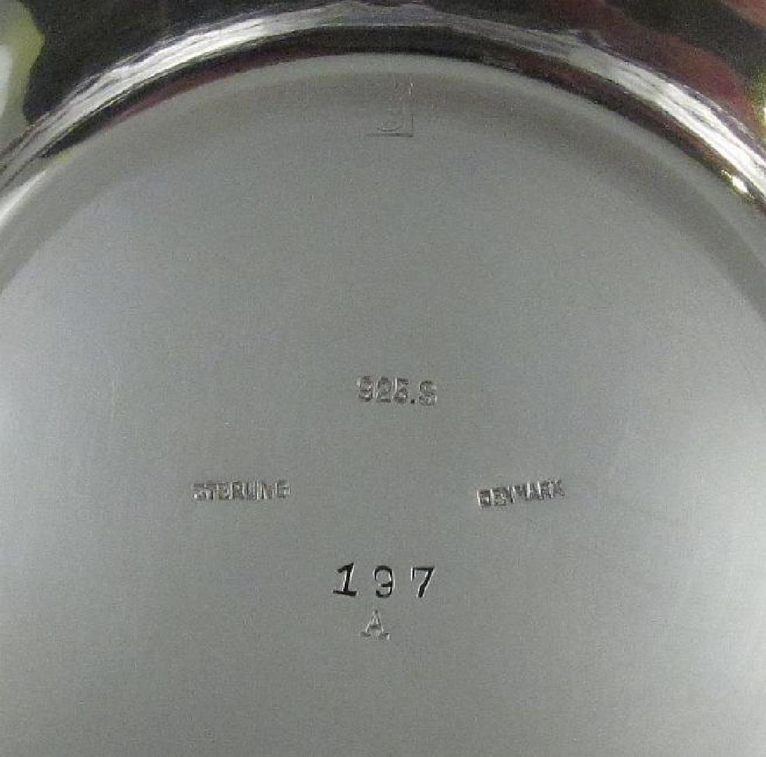 Vintage Georg Jensen Sterling Silver Pedestal Bowl - 3
