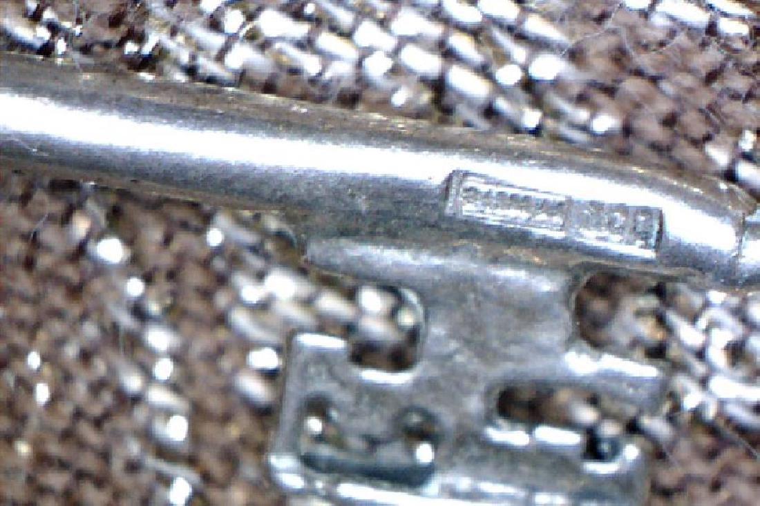 Vintage 800 Silver Miniature Key - 3