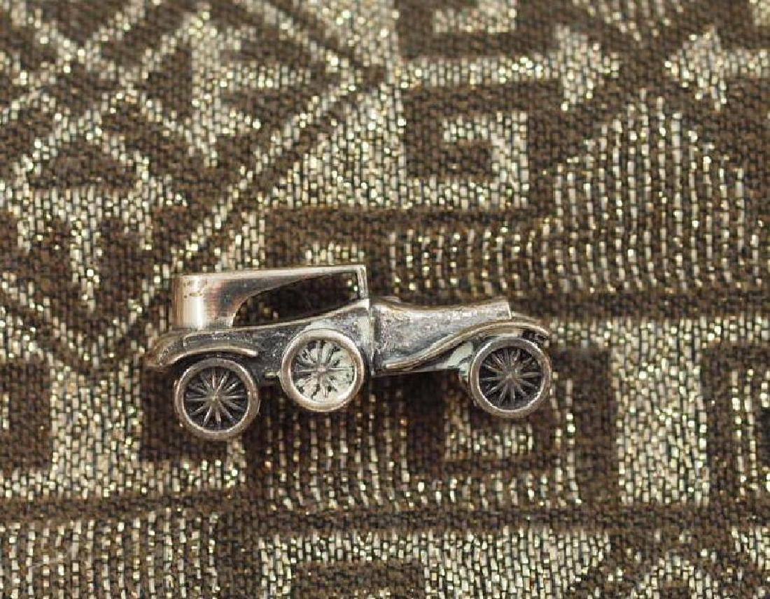 Vintage 800 Silver Miniature Labourdette Car
