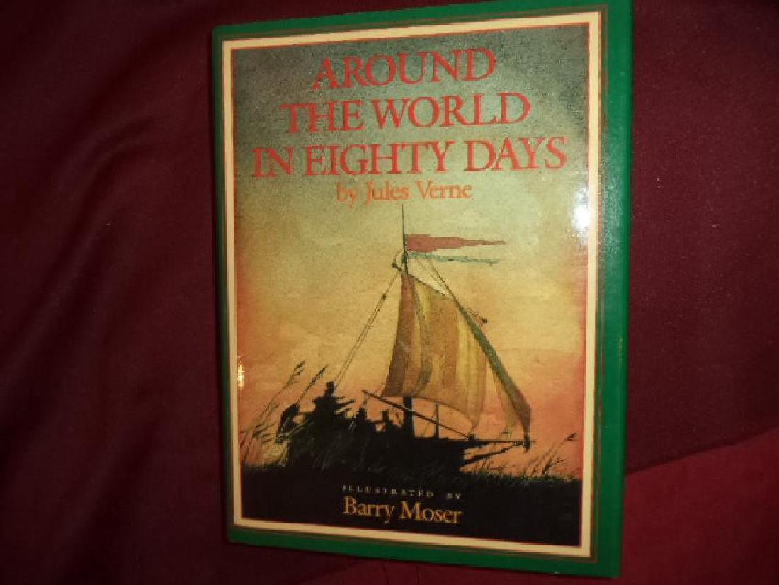 Around the World in Eighty Days. First Edition