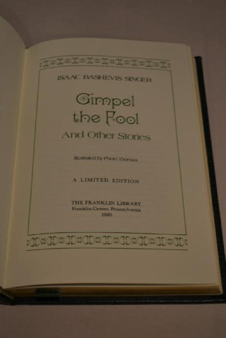 Gimple the Fool and Other Stories - Signed Limited Ed - 3