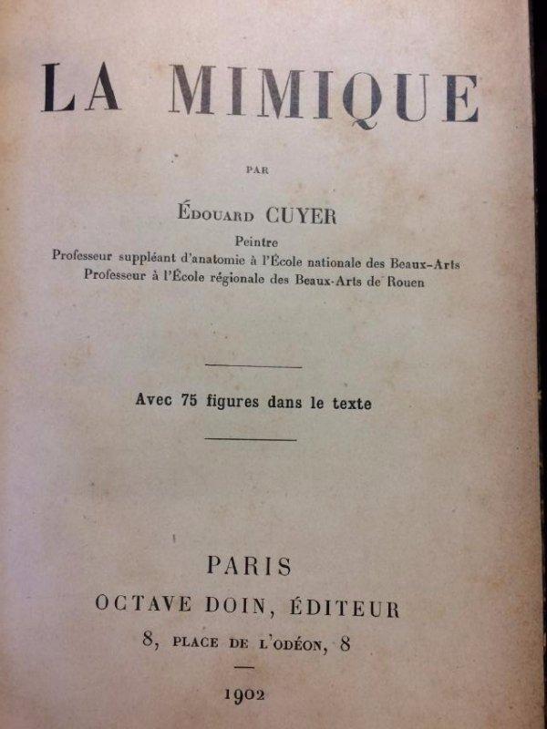 La Mimique Cuyer Octave - 4