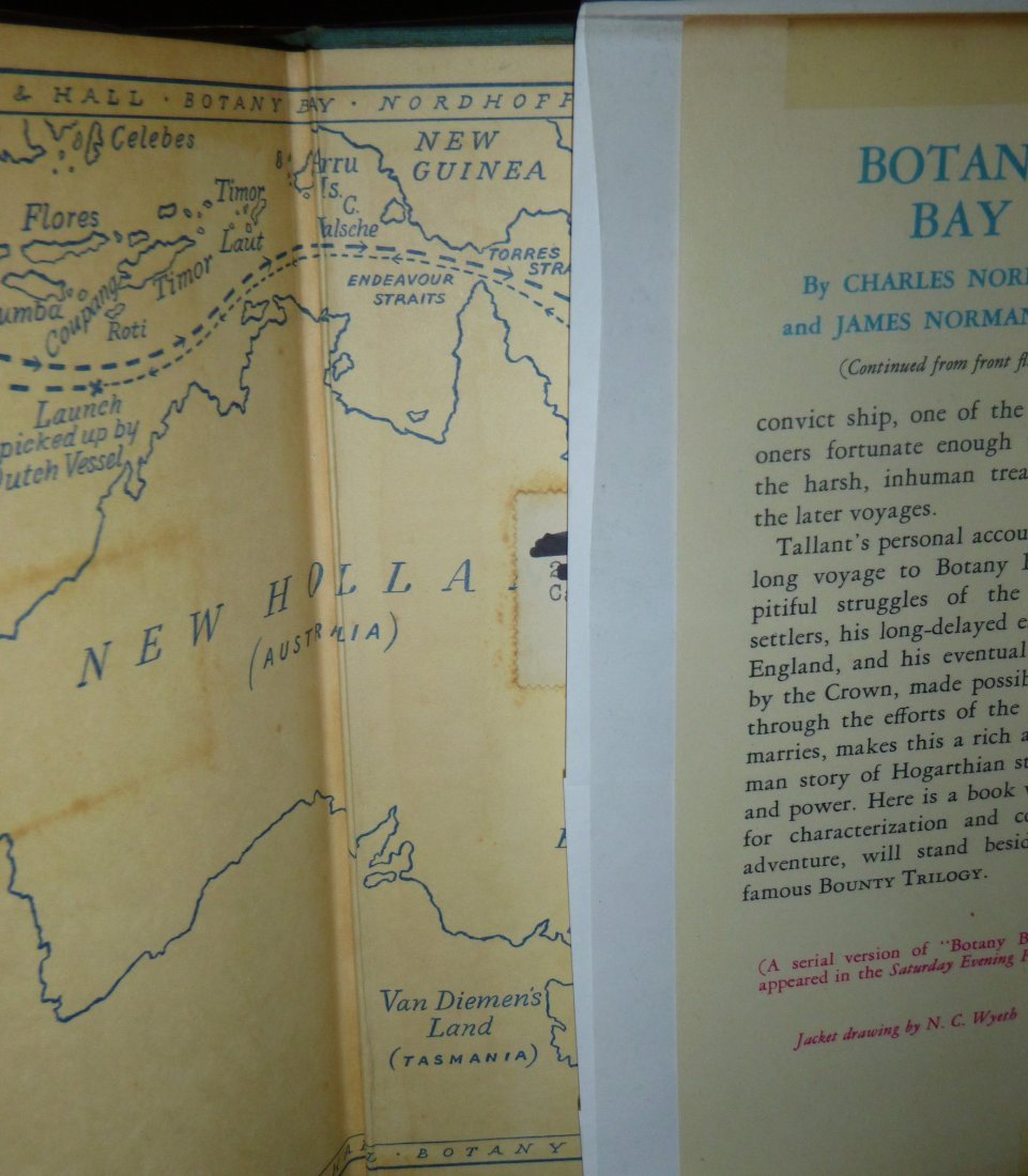 Botany Bay First Edition Signed by Nordhoff & Hall - 5