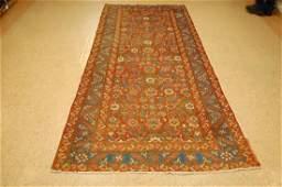 Antique Persian Heriz Bakhshayesh Rug 4.2x10.2