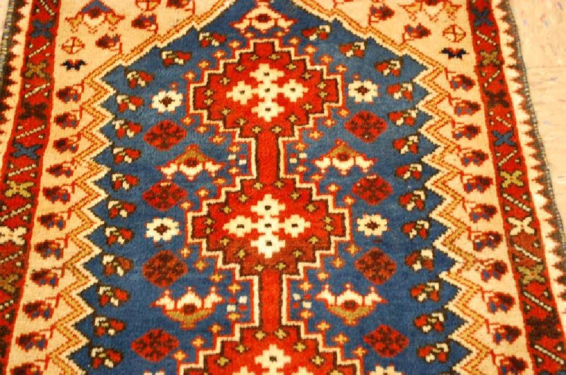 Persian Shiraz Qashkai Rug 1.10x2.5 - 4