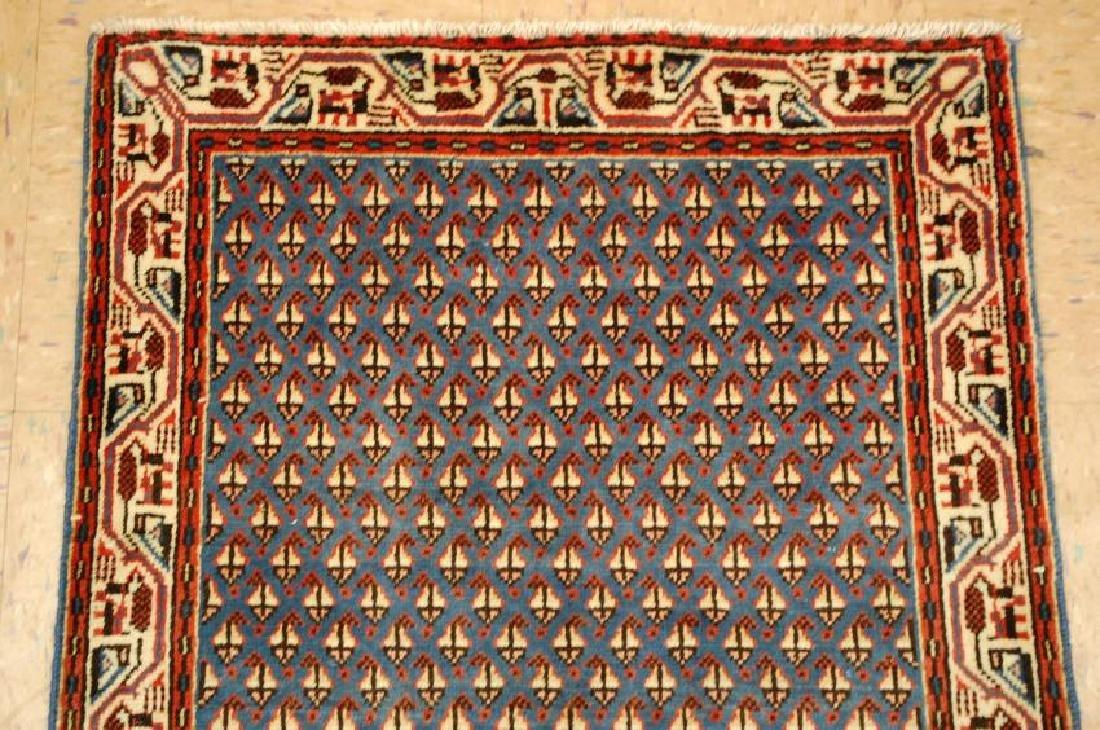 Persian Sarouk Rug 2.1x4 - 3