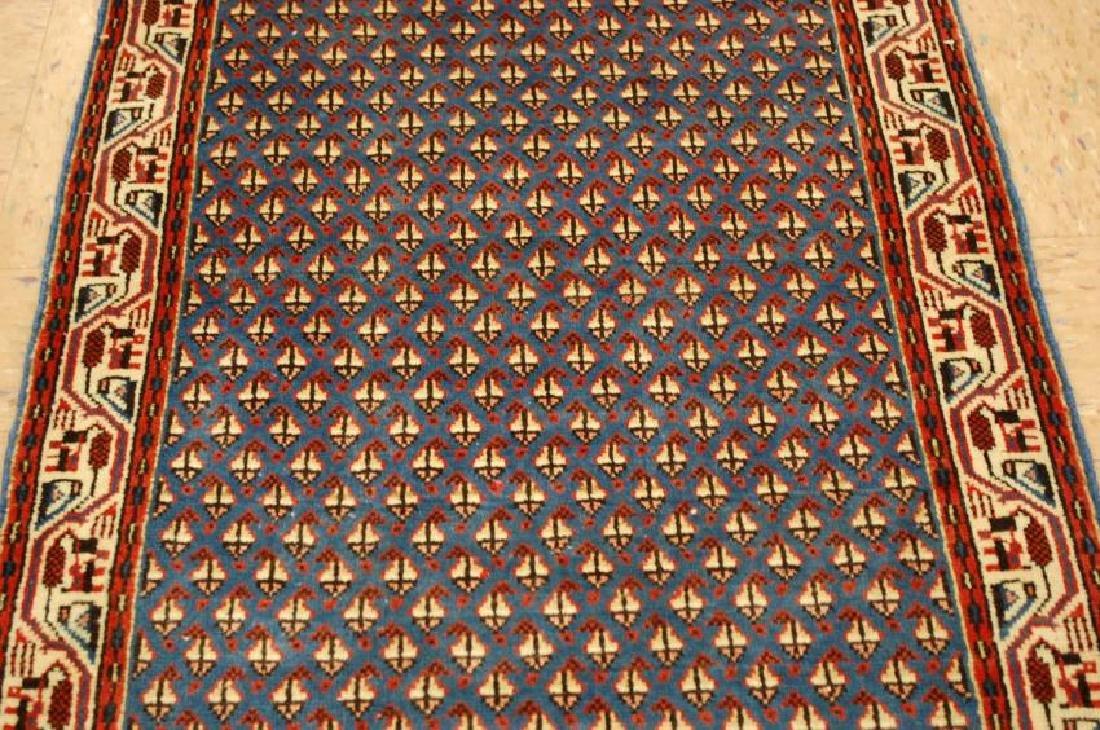 Persian Sarouk Rug 2.1x4 - 4